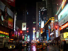 Times Square - NYC Attractions -