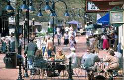Downtown Mall Area - Attractions/Entertainment, Shopping - 200 W Main St., charlottesville, VA, 22903