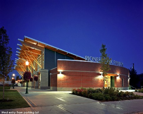 Pioneer Park Pavilion - Ceremony Sites, Reception Sites, Attractions/Entertainment - 330 South Meridian, Puyallup, WA, United States