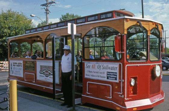 Stillwater Trolley - Attractions/Entertainment, Limos/Shuttles - 400 Nelson Street East, Stillwater, MN, United States