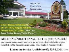 Golden Knight Inn & Suites - Hotel - RT-14, Watkins Glen, NY, 14891, US
