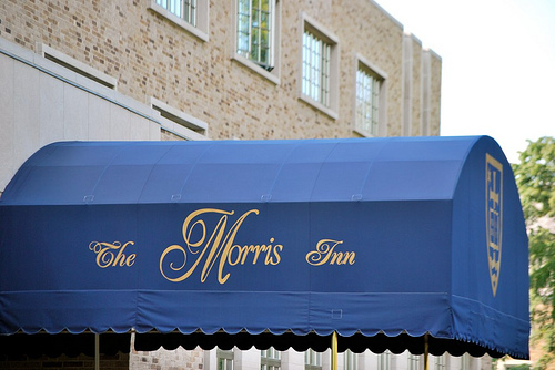 Morris Inn's Irish Courtyard - Reception Sites - Notre Dame Ave, Notre Dame, IN, USA