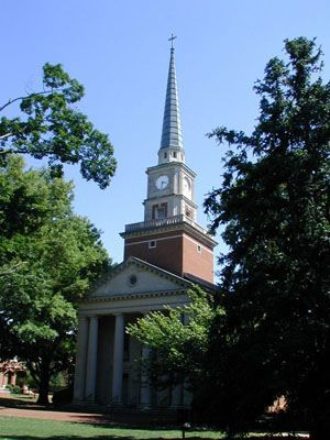 Davidson College Presbyterian Church - Ceremony Sites - N Main St & Concord Rd, Davidson, NC, 28036