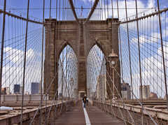 Brooklyn Bridge - Site Seeing - Brooklyn Bridge, New York, NY, USA