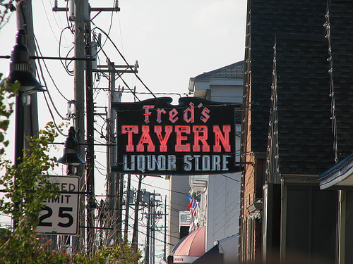 Fred's Tavern & Liquor Store - Attractions/Entertainment, Restaurants, Bars/Nightife - 314 96th Street, Stone Harbor, NJ, United States