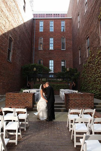 Cellar One (1st Ave. Courtyard Entrance) - Reception Sites, Ceremony Sites - 170 2nd Ave., Nashville, TN