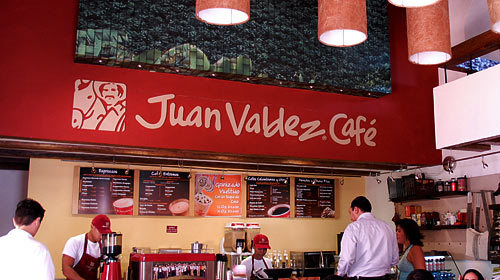Juan Valdez - Coffee/Quick Bites -