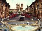 Piazza di Spanga - Attraction - Spanish Steps, 60, Rome, Lazio, IT
