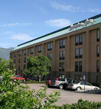 Hampton Inn Colorado Springs Central - Air Force Academy - Hotels/Accommodations - 7245 Commerce Center Dr, Colorado Springs, CO, 80919