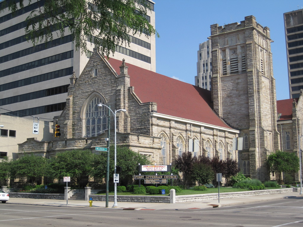 First Lutheran Church - Ceremony Sites - 138 W 1st St, Dayton, OH, 45402