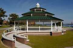 Union Point Park Gazebo - Ceremony - 210 East Front St., New Bern, NC, 28563, United States