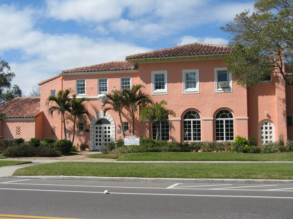 Saint Petersburg Women's Club - Reception Sites, Ceremony Sites - 40 Snell Isle Blvd NE, St Petersburg, FL, 33704