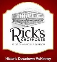 Rick's Chophouse - Restaurants, Reception Sites, Attractions/Entertainment - 107 N Kentucky St, McKinney, TX, 75069