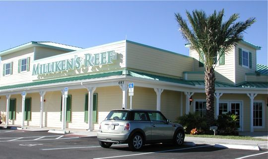 Milliken's Reef Restaurant - Reception Sites, Restaurants, Attractions/Entertainment - 683 Dave Nisbet Drive, Cape Canaveral, FL, United States