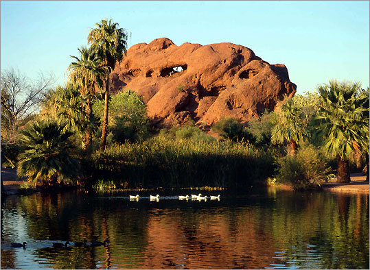 Hole-in-the-rock At Papago Park - Parks/Recreation - Tempe, Arizona, United States