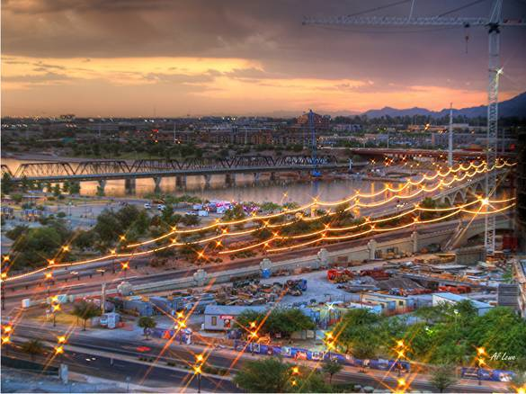 """a"" Mountain - Parks/Recreation - Tempe Butte, Tempe, AZ 85281, Tempe, Arizona, US"