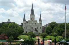 Jackson Square - Entertainment - Chartres St & St Peter St, New Orleans, LA, United States