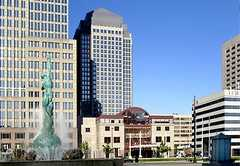 Cleveland Marriott Downtown at Key Center - Reception - 127 Public Square, Cleveland, OH, 44114, US