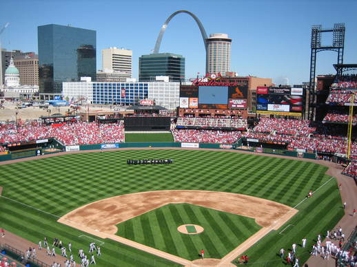 St Louis Cardinals - Hotels/Accommodations, Attractions/Entertainment - 700 Clark St, Saint Louis, MO, United States