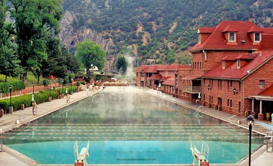 Glenwood Hot Springs - Attractions/Entertainment, Parks/Recreation - E 6th St, Glenwood Springs, CO, 81601