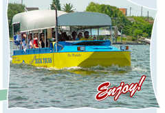 Galveston Duck Tours - Attraction - Seawall Boulevard, Galveston, TX, United States