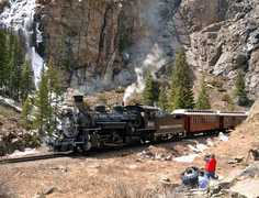 Durango & Silverton Narrow Gauge Railroad and Museum - Attraction - 10 Animas, Silverton, CO, 81433, United States