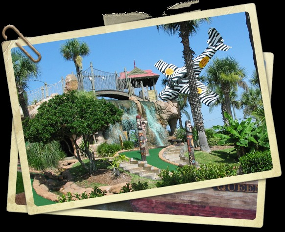Congo River Adventure Golf - Attractions/Entertainment - 2100 S Atlantic Ave, Daytona Beach, FL, 32118