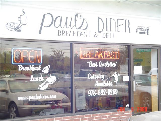 Paul's Diner - Restaurants - 6 Carlisle Rd, Westford, Massachusetts, US