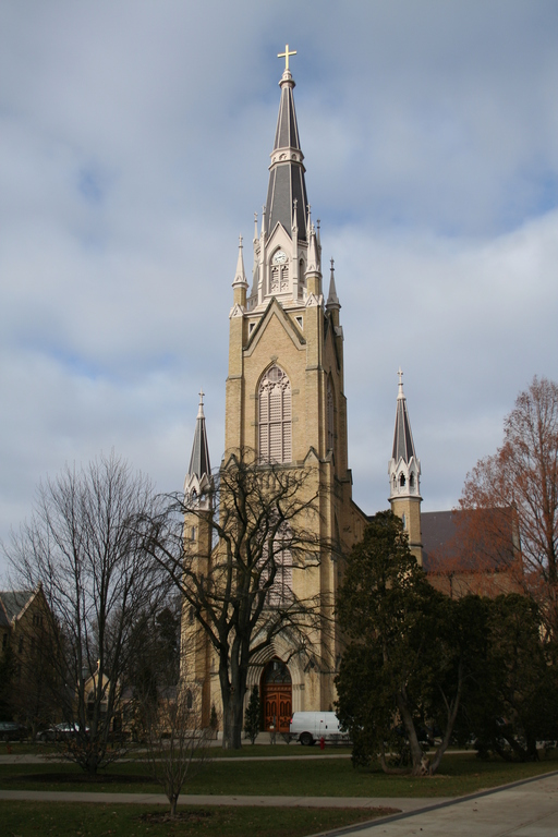 The Basilica Of The Sacred Hear - Ceremony Sites - Basilica of The sacred Heart, South Bend, IN 46637, South Bend, Indiana, US