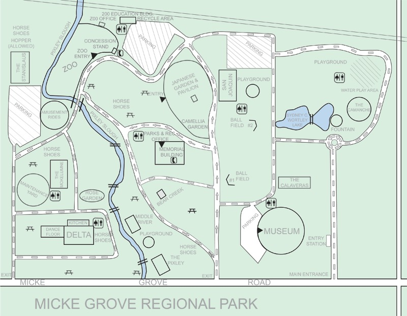 Micke Grove Japanese Garden - Ceremony Sites, Reception Sites - 11793 N Micke Grove Rd, Lodi, CA, 95240
