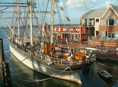 Texas Seaport Museum & Tall Ship Elissa - Attraction - Pier 21, Number 8, Galveston, TX, 77550