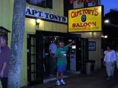 Captain Tony's Saloon - Entertainment - 428 Greene Street, Key West, FL, United States