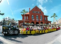 Conch Tour Train - Attractions/Entertainment, Shopping - 303 Front Street, Key West, FL, United States