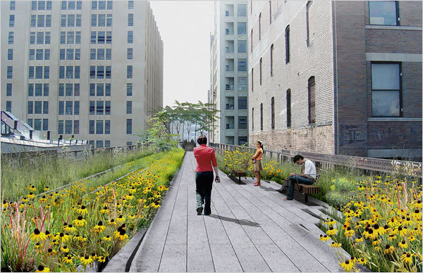 High Line Park - Shopping, Attractions/Entertainment, Parks/Recreation - 529 W 20th St, New York, NY, United States