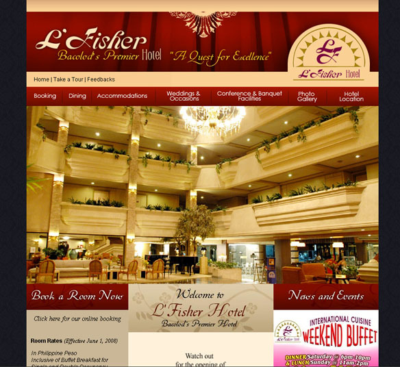 L' Fisher Hotel - Reception Sites, Hotels/Accommodations - 14th Street, Bacolod City, Western Visayas, Philippines