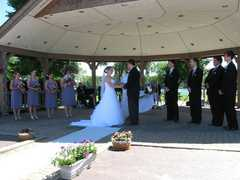Revelli Bandshell at Festival Park - Ceremony - 111 E Old Ridge Rd, Hobart, IN, 46342