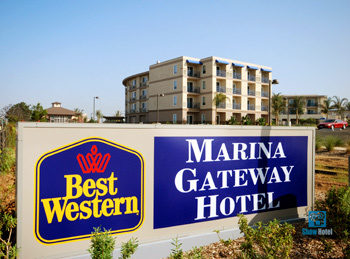 Best Western Marina Gateway - Hotels/Accommodations - 800 Bay Marina Drive, San Diego, CA, 91950, United States