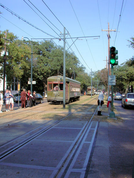 Running Past Streetcars - Attractions/Entertainment, Parks/Recreation - New Orleans, Louisiana, United States