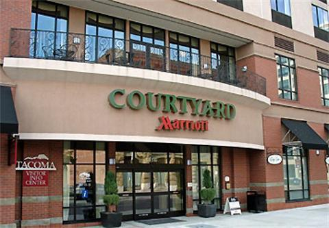 Courtyard Tacoma Downtown - Hotels/Accommodations - 1515 Commerce Street, Tacoma, WA, United States
