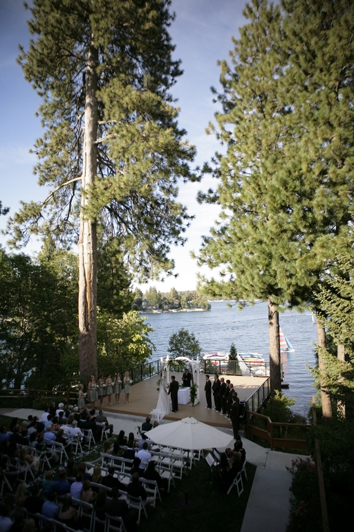 Lakeside Lawn - Lake Arrowhead Resort - Ceremony Sites, Reception Sites - Lake Arrowhead, CA