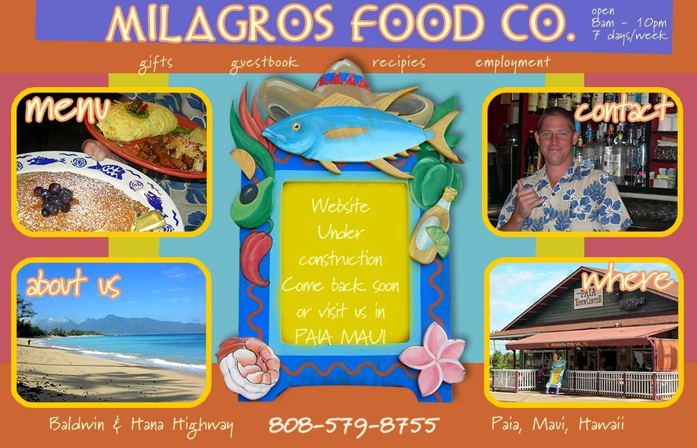 Milagros Food Co - Restaurants - 3 Baldwin Ave, Paia, HI, United States