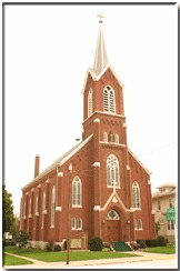 St. Joseph's Catholic Church - Ceremony Sites - 400 S Lane St, Palmyra, MO, 63461