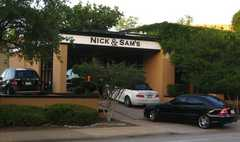 Nick & Sam's /Rehearsal Dinner - Restaurant - 3008 Maple Avenue, Dallas, TX