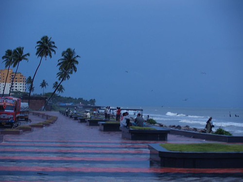 Calicut Beach - Attractions/Entertainment - Calicut, Kerala, India