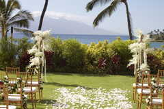 Wailea Wedding In July in Maalaea, HI, USA