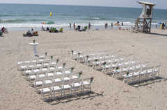 Reception - Ceremony - Oceanic Restaurant, 703 S Lumina Ave, Wrightsville Beach, NC, 28480
