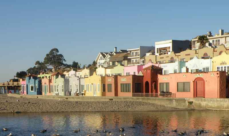 Capitola Village - Attractions/Entertainment, Shopping - Esplanade, Capitola, CA, 95010, US