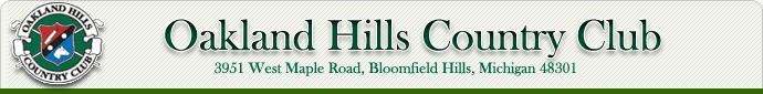 Oakland Hills Country Club - Reception Sites, Golf Courses - 3951 West Maple Road, Bloomfield Hills, Michigan, United States