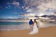 Dana and Bryant's Wedding in Waimanalo Beach, HI, USA