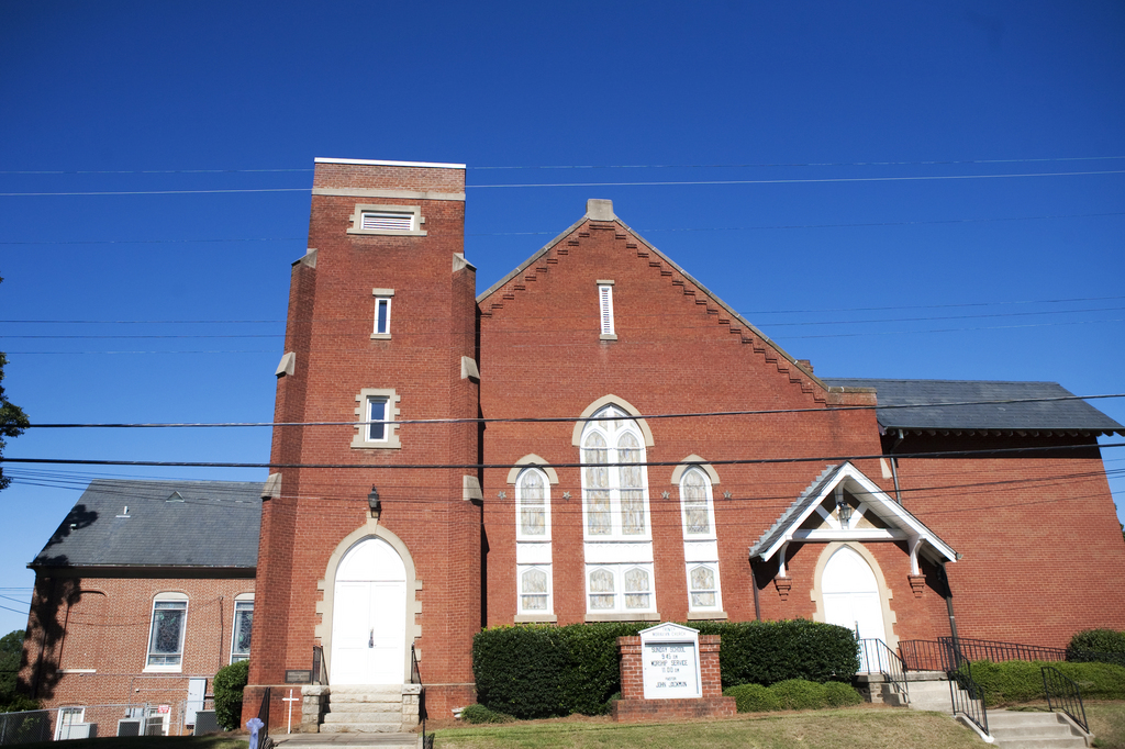 Trinity Moravian Church - Ceremony Sites - 220 E Sprague St, Winston-Salem, NC, 27127